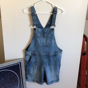 GAP Overall Shorts